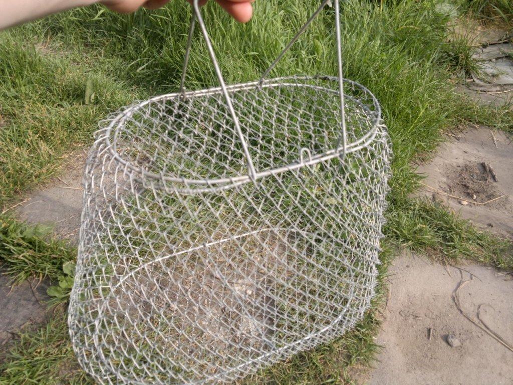 Мастерим своими руками: садок для рыбы
