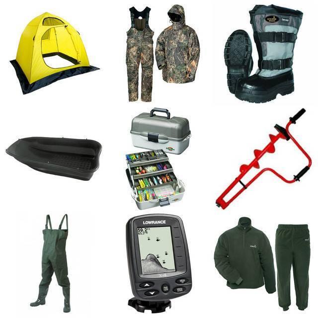 Минимальный набор для зимней рыбалки. что взять с собой на зимнюю рыбалку
