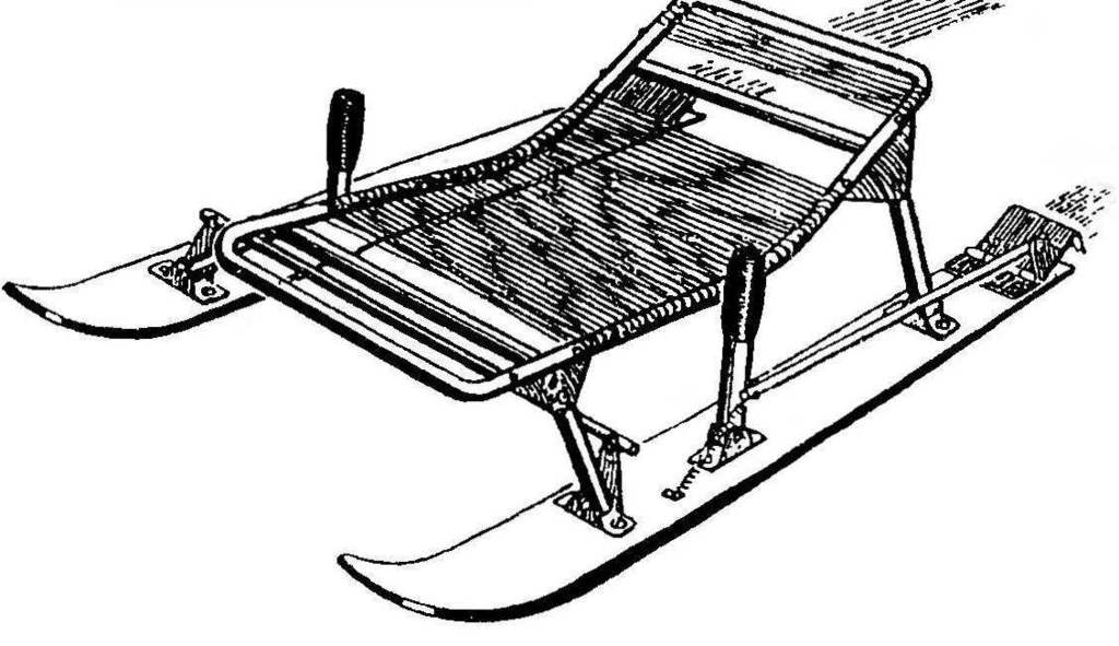 Как сделать рыболовные санки своими руками?
