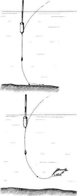 Как привязать второй крючок к основной леске - рыбачок!