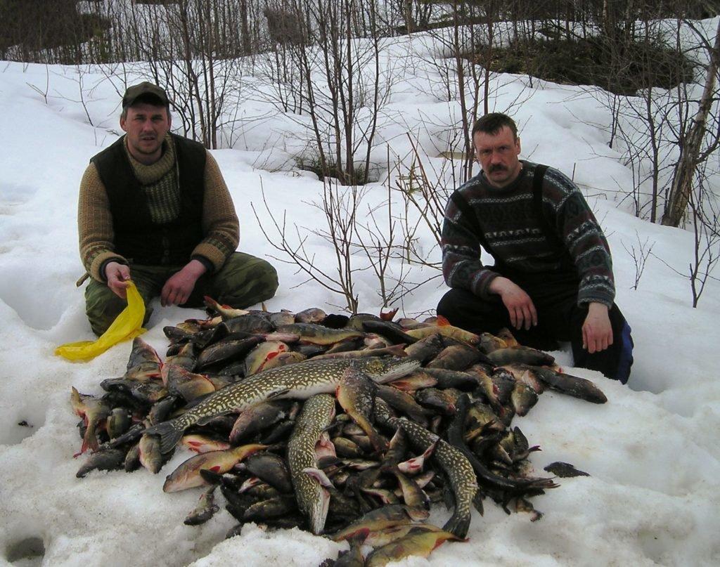 Зимняя рыбалка в Коми