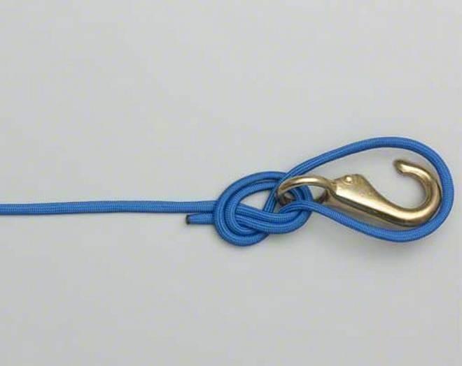 Самый простой и быстрый рыболовный узел - паломар