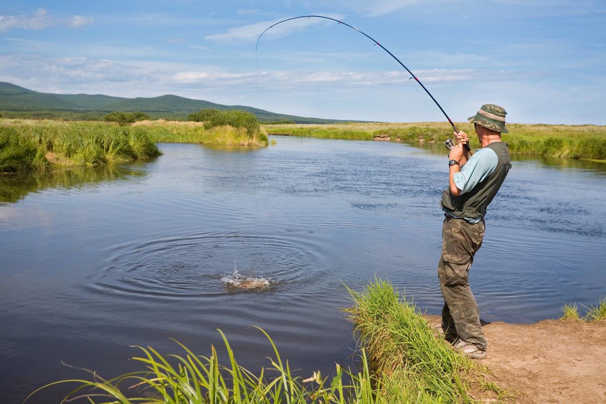 Самые рыбные места в красноярске